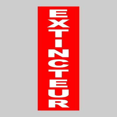 Sticker EXTINCTEUR ref 7