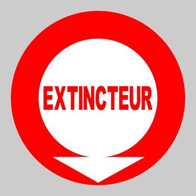 Sticker EXTINCTEUR ref 3