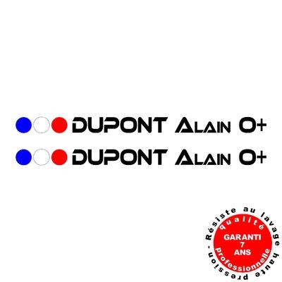 Stickers NOMS DE PILOTE ref C