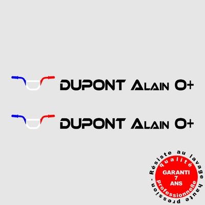 Stickers NOMS DE PILOTE ref D