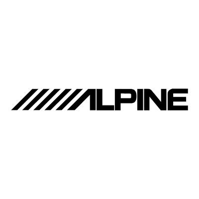Sticker ALPINE ref 1