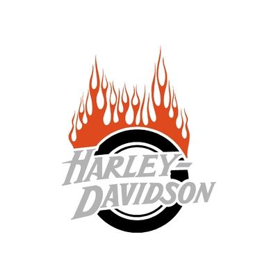 Sticker HARLEY DAVIDSON ref 41