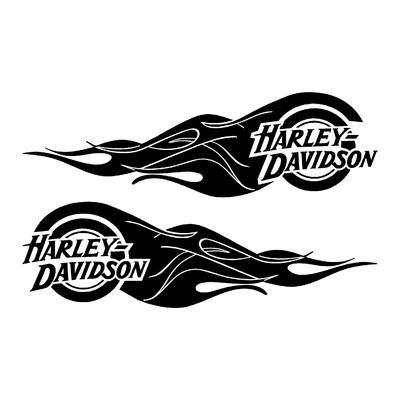 Stickers HARLEY DAVIDSON ref 38