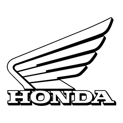 Sticker HONDA ref 17