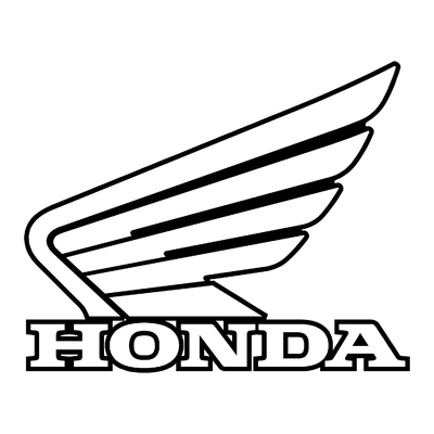 Sticker HONDA ref 19