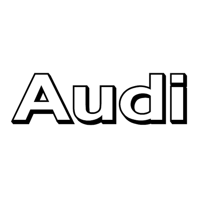 Sticker AUDI ref 15