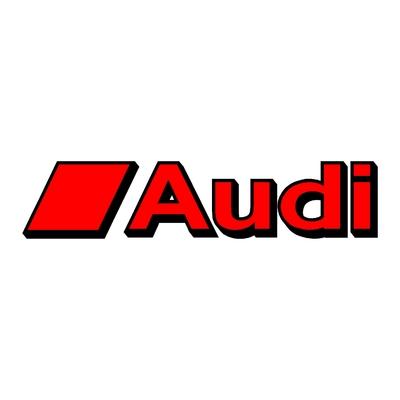 Sticker AUDI ref 22