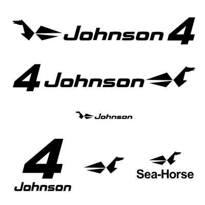 Kit stickers JOHNSON 4 cv serie 0