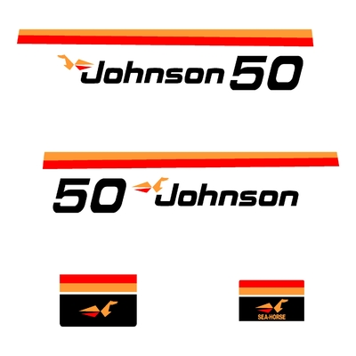 Kit stickers JOHNSON 50 cv serie 1