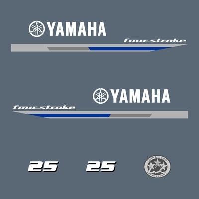 Kit stickers YAMAHA 25 cv serie 1