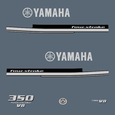 Kit stickers YAMAHA F 350 cv V8 serie 1