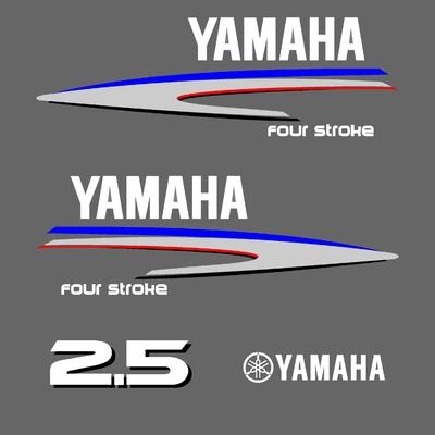 Kit stickers YAMAHA 2.5 cv serie 2