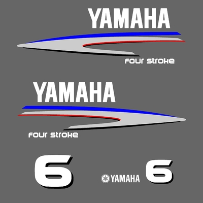 Kit stickers YAMAHA 6 cv serie 2