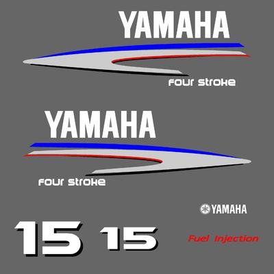 Kit stickers YAMAHA 15 cv serie 2
