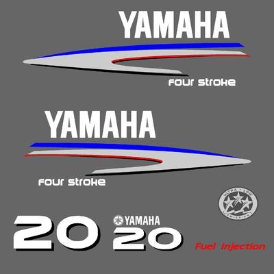 Kit stickers YAMAHA 20 cv serie 2