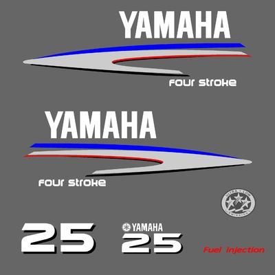 Kit stickers YAMAHA 25 cv serie 2