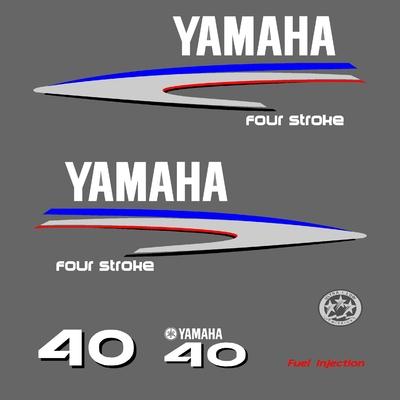 Kit stickers YAMAHA 40 cv serie 2