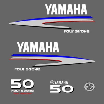 Kit stickers YAMAHA 50 cv serie 2