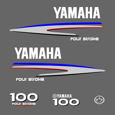 Kit stickers YAMAHA 100 cv serie 2