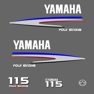 Kit stickers YAMAHA 115 cv serie 2