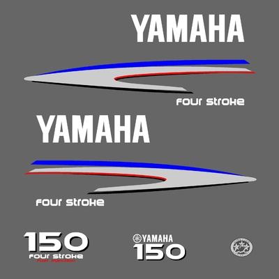 Kit stickers YAMAHA 150 cv serie 2