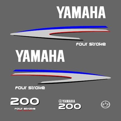 Kit stickers YAMAHA 200 cv serie 2