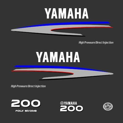Kit stickers YAMAHA HPDI 200 cv serie 2