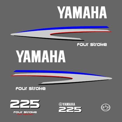 Kit stickers YAMAHA 225 cv serie 2