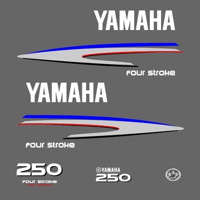 Kit stickers YAMAHA 250 cv serie 2