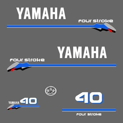 Kit stickers YAMAHA 40 cv serie 3