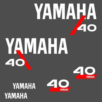Kit stickers YAMAHA 40 cv serie 4