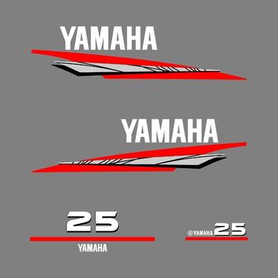 Kit stickers YAMAHA 25 cv serie 6
