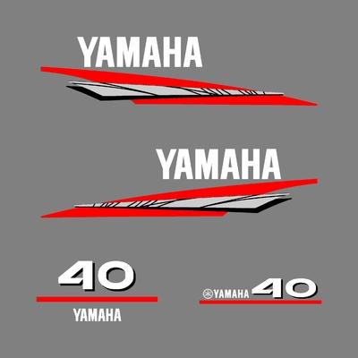 Kit stickers YAMAHA 40 cv serie 6