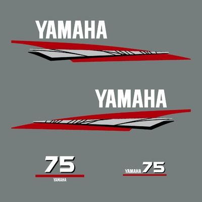 Kit stickers YAMAHA 75 cv serie 6