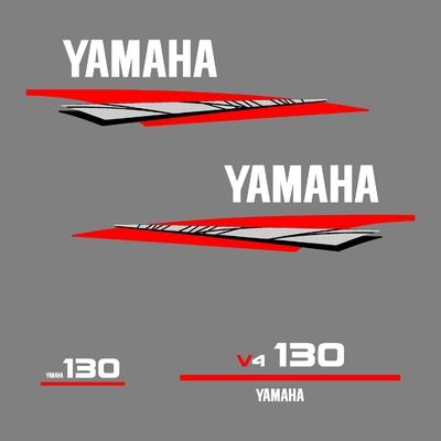Kit stickers YAMAHA 130 cv V4 serie 6