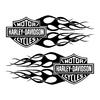 sticker-harley-davidson-ref5-bar-shield-flammes-moto-autocollant-casque