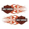 sticker-harley-davidson-ref6-bar-shield-flammes-moto-autocollant-casque