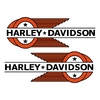 sticker-harley-davidson-ref43-bar-shield-roue-moto-autocollant-casque