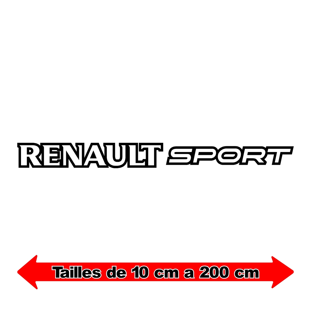 stickers-ref5-renault-sport-rs-gt-cup-f1-tuning-rallye-megane-clio-compétision-deco-adhesive-autocollant