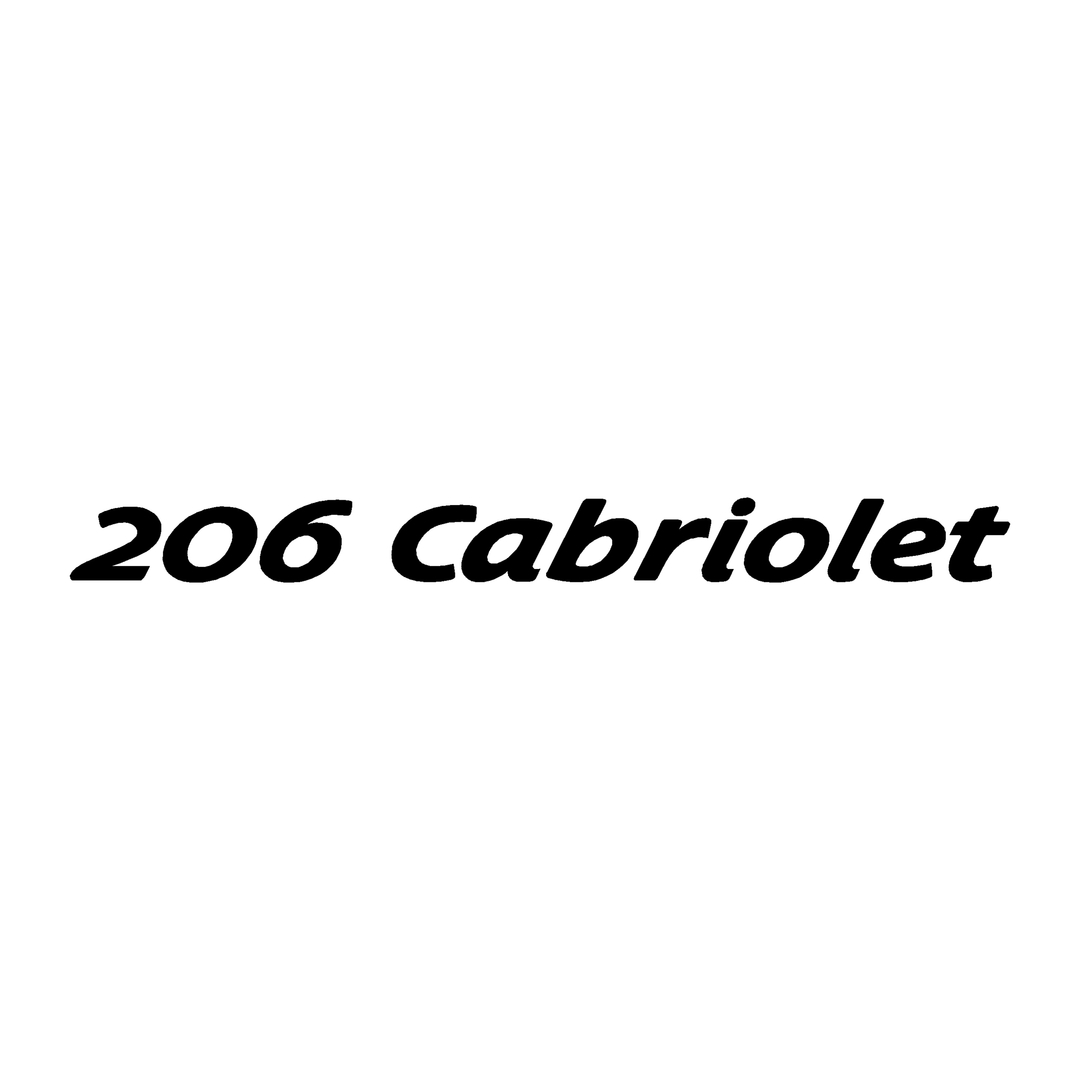 stickers-peugeot-ref47-auto-tuning-rallye-compétision-deco-adhesive-autocollant-206cabriolet