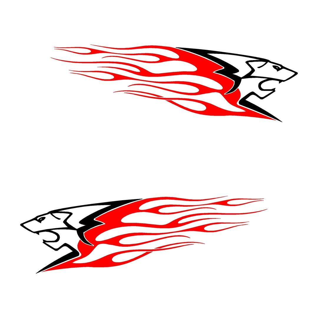 stickers-peugeot-ref21-auto-tuning-rallye-compétision-deco-adhesive-autocollant-lion-flammes