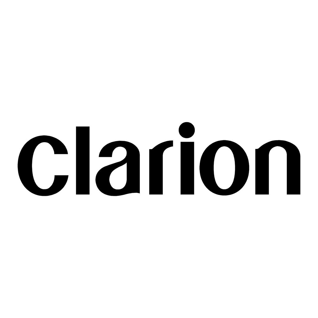 sticker clarion ref 1-tuning-audio-sonorisation-car-auto-moto-camion-competition-deco-rallye-autocollant