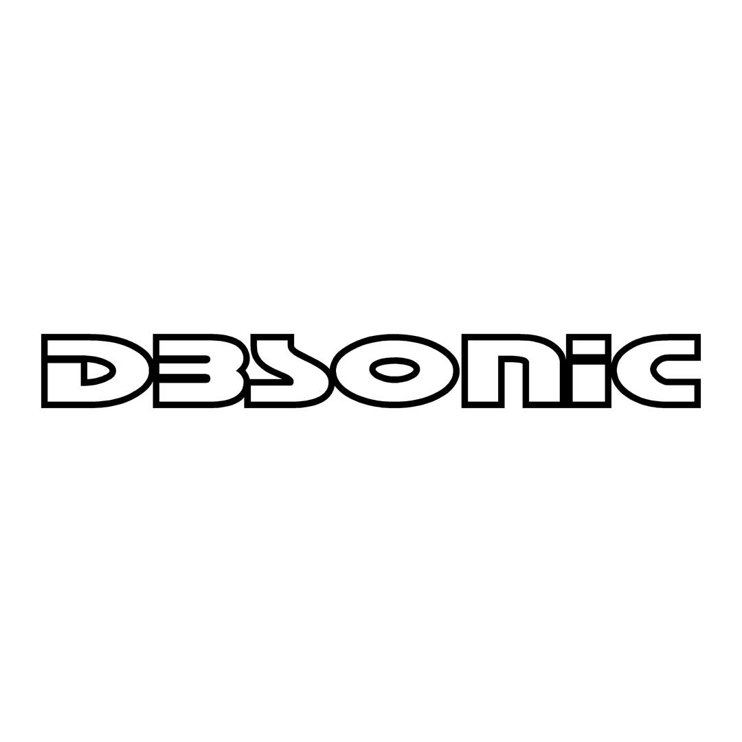 sticker dbsonic ref 2-tuning-audio-sonorisation-car-auto-moto-camion-competition-deco-rallye-autocollant