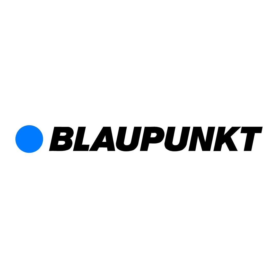 sticker blaupunkt ref 1-tuning-audio-sonorisation-car-auto-moto-camion-competition-deco-rallye-autocollant