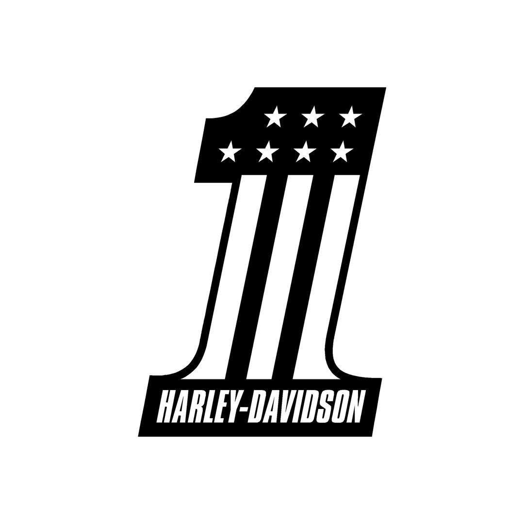 sticker-harley-davidson-ref112-numero-1-moto-autocollant-casque-tuning-deco-motar