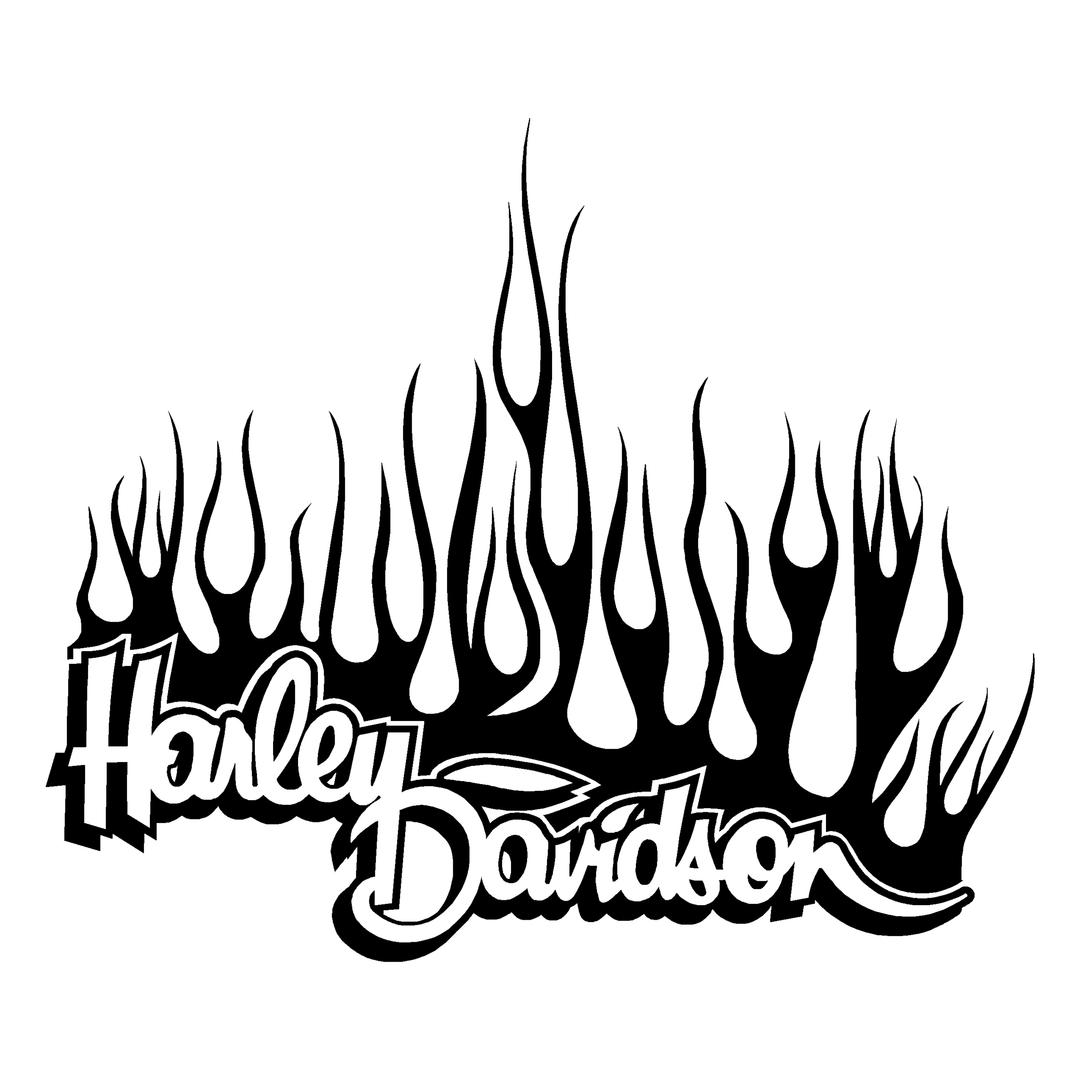 sticker-harley-davidson-ref25-bar-shield-flammes-moto-autocollant-casque