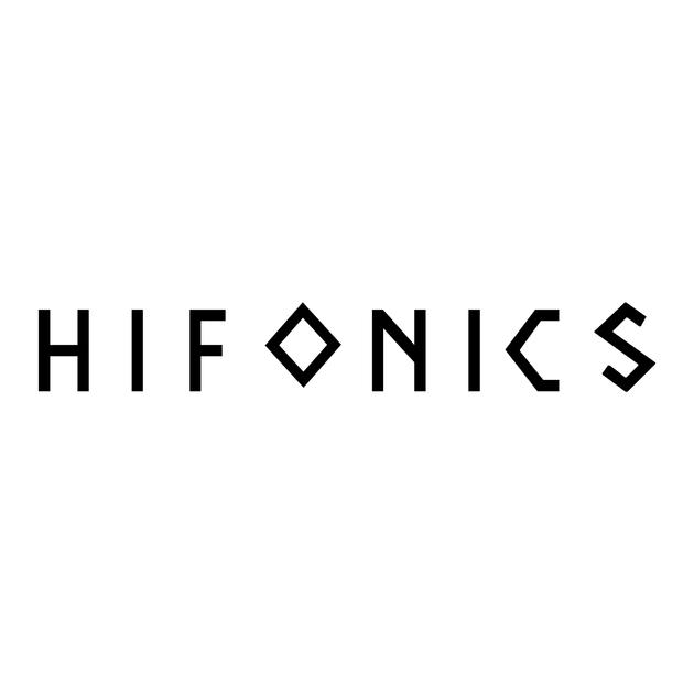 Sticker hifonics ref 1 tuning audio sonorisation car auto moto