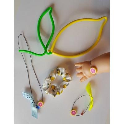 Parure bijoux poupée / petite fille