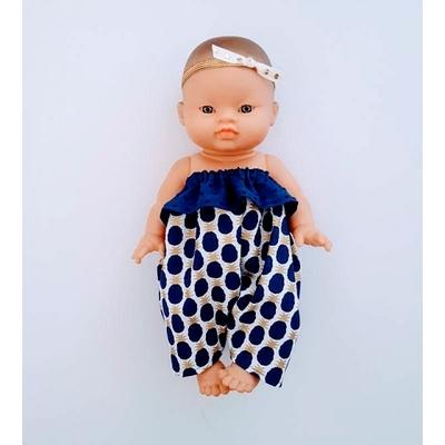 Combinaison Froufrou sans bretelle pour poupée