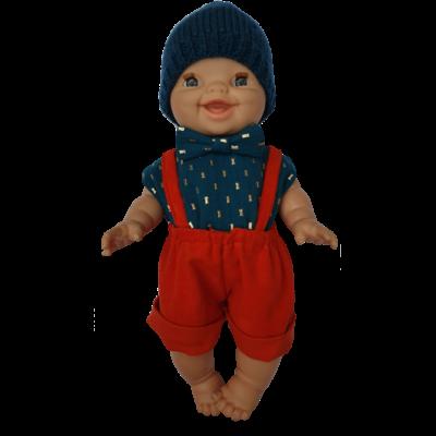 Bermuda pour poupée